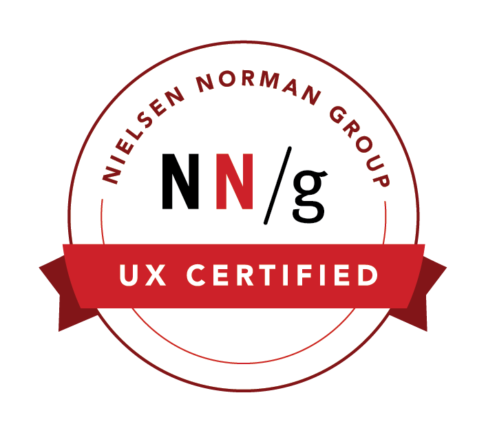 NielsenNorman Group UX Certified