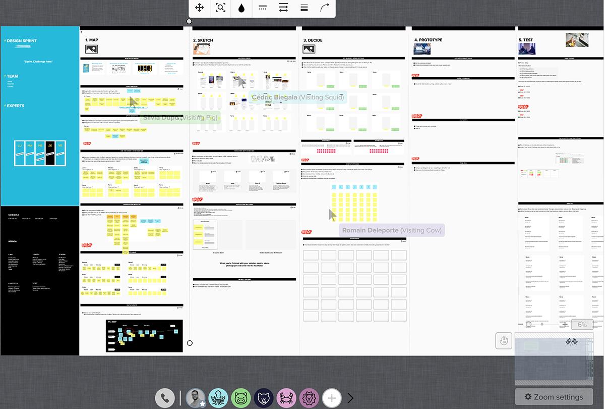 Remote design sprint